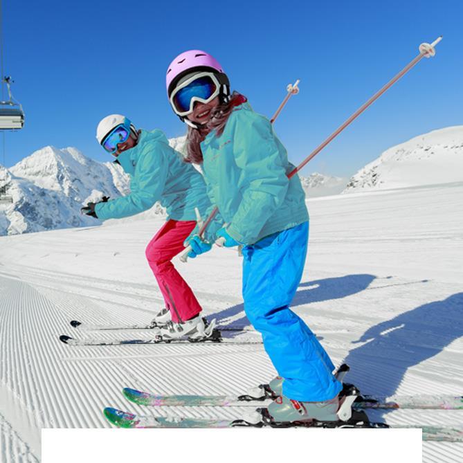Skiez dans les Alpes